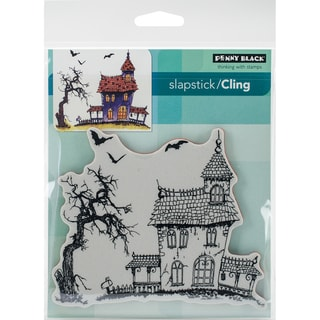 Penny Black Cling Stamp 5X7-Dark House