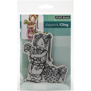 Penny Black Cling Stamp 5X7-Carrot Collector