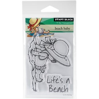Penny Black Clear Stamps 3X4-Beach Baby
