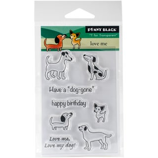 Penny Black Clear Stamps 3X4-Love Me