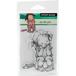 """Penny Black Clear Stamps 3""""X4""""-On The Pot"""