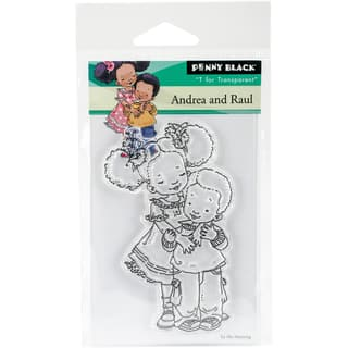 """Penny Black Clear Stamps 3""""X4""""-Andrea & Raul