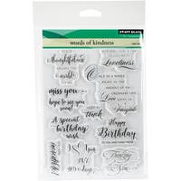 "Penny Black Clear Stamps 5""X7""-Words Of Kindness"