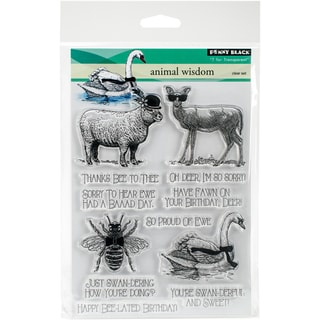 "Penny Black Clear Stamps 5""X7""-Animal Kingdom"