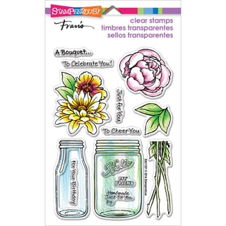 Stampendous Perfectly Clear Stamps 4X6-Bouquet For You