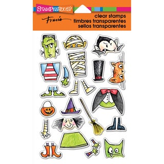 Stampendous Perfectly Clear Stamps 4X6-Costume Stack