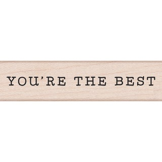 Hero Arts Mounted Rubber Stamp 3X.75-You're The Best