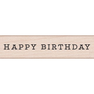 Hero Arts Mounted Rubber Stamp 3X.75-Happy Birthday