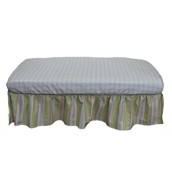 Nurture Basix Neutral Stripe 2-piece Bedding Starter Set