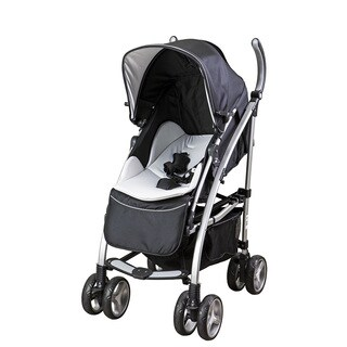 Dream On Me 'Mia Moda Adriana' White Plastic Reversible Seat Stroller