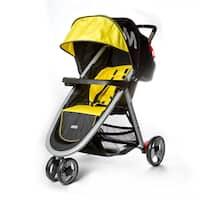 Dream on Me Mia Moda Yellow Plastic Elite Lightweight Stroller