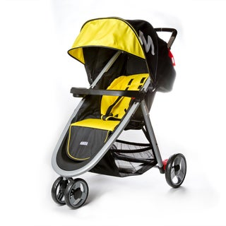 Dream on Me Mia Moda Yellow Plastic Elite Lightweight Stroller