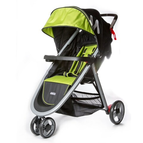 Mia Moda Green Aluminum Elite Lightweight Stroller
