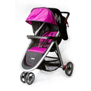 Dream on Me Mia Moda Elite Pink Lightweight Stroller
