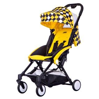 Mia Moda Yellow Enzo Urban Lightweight Stroller