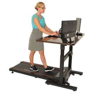 Conquer Electric Treadmill Automatic Height Adjustment Standing and Walking Desk