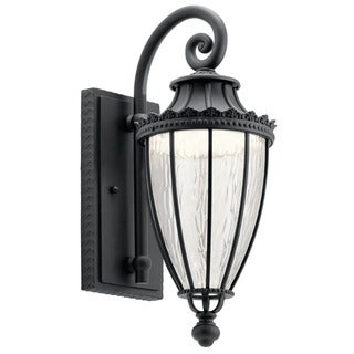 Link to Kichler Lighting Wakefield Collection 1-light Textured Black LED Outdoor Wall Lantern Similar Items in Track Lighting