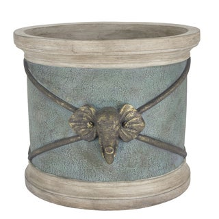 Bombay Outdoors Raja Elephant Planter