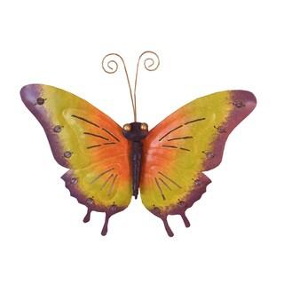 D-Art collection Medium Iron Butterfly Wall Decor