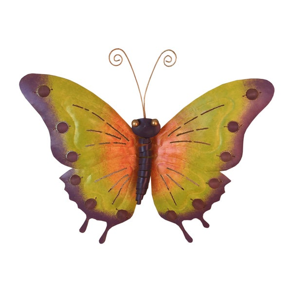 D Art Collection Large Iron Erfly Wall Decor Free Shipping On Orders Over 45 14338665