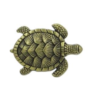 Turtle Metal Dresser Drawer, Cabinet Drawer Knobs - Pack of 6