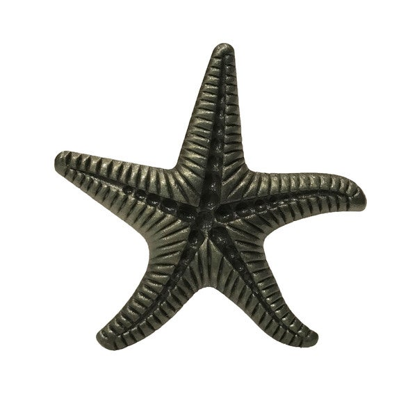 Bronze Metal Starfish Dresser Drawer, Cabinet Drawer or Door Knob ...