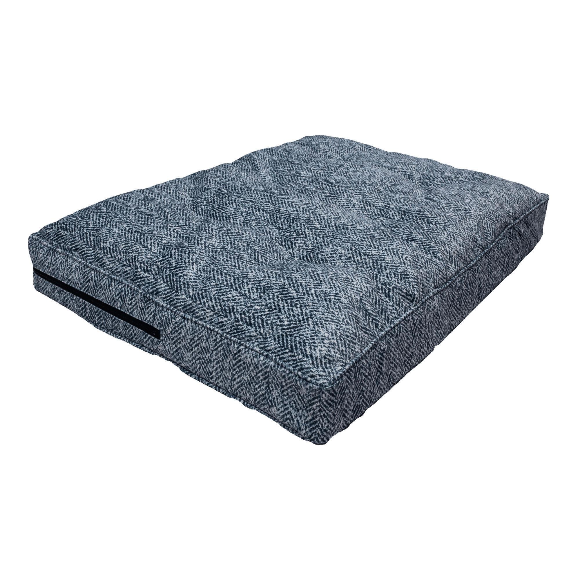 Snoozer Premium Orthopedic Pillow Top Palmer Indigo Pet B...