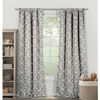 Lala Bash Gingalia Blackout Curtain Panel Pair - 78x84""