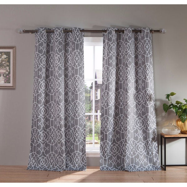 "Duck River Kit Heavy Blackout 112-inch Grommet Window Curtain Panel Pair - 38x112""/2pc"