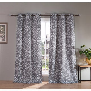 "Duck River Kit Heavy Blackout 112-inch Grommet Window Curtain Panel Pair - 38x112""/2pc (2 options available)"