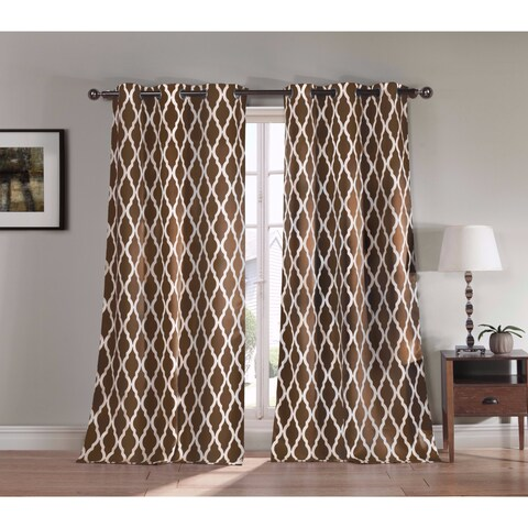 """Duck River Kittatinny 112-Inches Blackout Curtain Panel Pair - 38x112""""/2pc"""