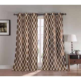 Duck River Kittattinny Heavy Blackout Grommet Window Panel Pair (Option: 112 Inches)