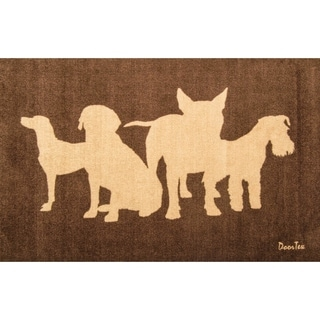 Doortex Rectangular Wash Room Dog Mat (2' x 3'3)