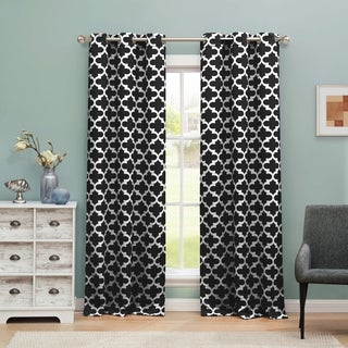 Duck River Kyra Blackout365 Grommet Window Curtain Panel Pair