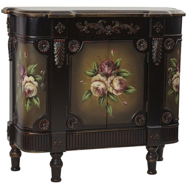 French Vintage Style Floor Cabinet - Not Available