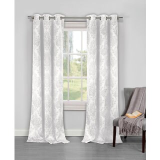 Duck River Phelan Blackout Grommet Window Curtain Panel Pair