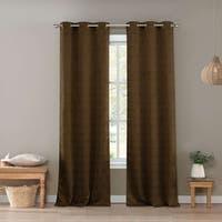 "Duck River Santo Duck River Blackout 96-inch Grommet Window Curtain Panel Pair - 36x96"""