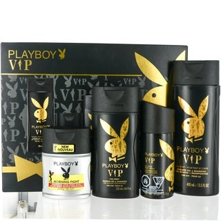 Coty Playboy VIP Men's 4-piece Gift Set