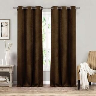 Duck River Sera Blackout Grommet Window Curtain Panel Pair