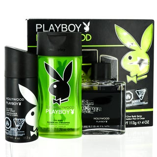 Coty Playboy Hollywood Men's 3-piece Gift Set