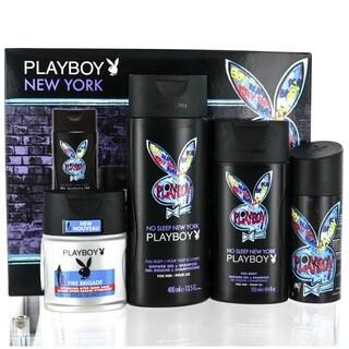 Coty Playboy New York Men's 4-piece Gift Set
