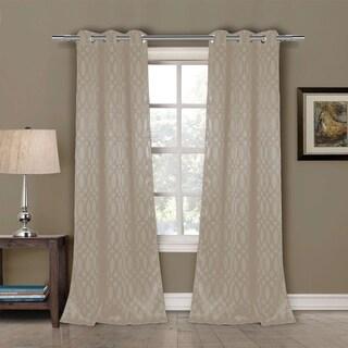 Tayla-D Blackout Grommet Window Curtain Panel Pair