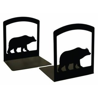 Bear Silhouette Book Ends
