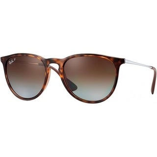 ray ban rose gold mirrored aviators gs3z  Ray-Ban RB4171 710/T5 Erika Classic Tortoise Frmae Polarized Brown Gradient  54mm Lens