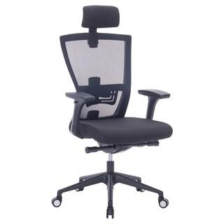 MCombo Executive Mesh High-Back Computer Office Chair Black