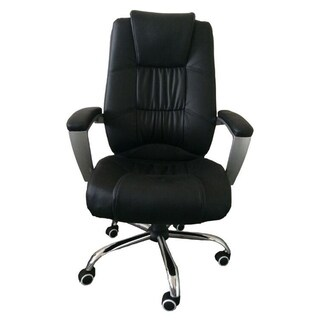 MCombo High Back Leather Office Desk Task Computer Chair w/Metal Base
