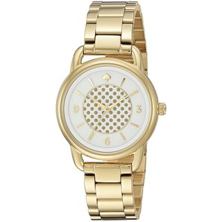 Kate Spade Women's KSW1166 'Boathouse' Gold-Tone Stainless Steel Watch