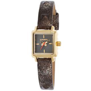 Diesel Women's DZ5478 'Ursula' Brown Leather Watch