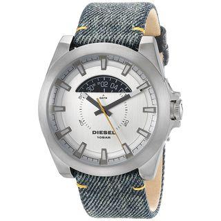 Diesel Men's DZ1689 'Arges' Blue Leather Watch