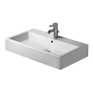 Duravit Vero Above Counter Porcelain Bathroom Sink White Alpin